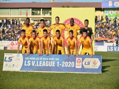 Hết kinh phí, CLB Thanh Hóa chuyển công văn xin bỏ V-League 2020