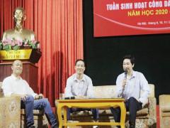 HANSIBA tham dự Đào tạo tạo và Tọa đàm Khởi nghiệp cùng sinh viên Đại học Văn hóa Hà Nội