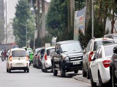 Đỗ ô tô trên vỉa hè có bị phạt không? Nếu có thì bị phạt bao nhiêu?