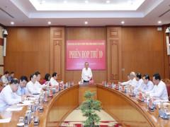 Phó Thủ tướng Trương Hòa Bình chủ trì họp BCĐ cải cách tư pháp Trung ương