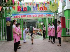 Thành phố Đà Nẵng: Học sinh mầm non được uống sữa học đường ngay ngày đầu tựu trường