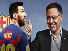 Messi bị Chủ tịch Barca lừa