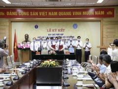 Lễ ký kết Quy chế phối hợp giữa Bộ Y tế và BHXH Việt Nam trong xây dựng, tổ chức thực hiện chính sách, pháp luật BHYT