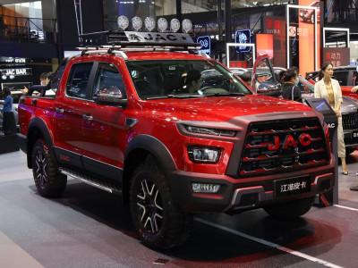 JAC Shuailing T9 - Mẫu bán tải mới cứng, thiết kế ấn tượng ra mắt ở Triển lãm Bắc Kinh 2020