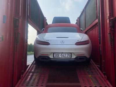 Mercedes-AMG GT Roadster độc nhất Việt Nam lên xe lồng chính thức vào Nam