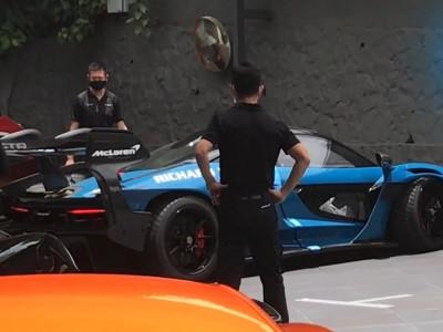 Siêu xe dành cho đường đua McLaren Senna GTR bất ngờ đến Singapore