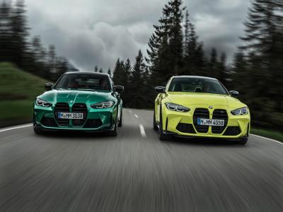 Vén màn BMW M3 và M4 2021 với thiết kế lưới tản nhiệt