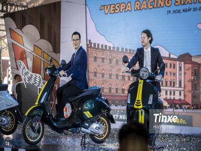 Vespa Racing Sixties mang cảm hứng xe đua cổ điển có gì đặc biệt?