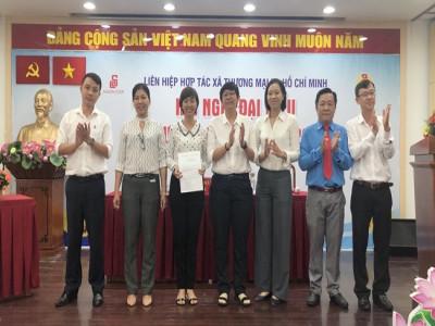Lễ trao quyết định chuẩn y Ban Chấp hành Đảng bộ Saigon Co.op