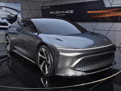Beijing Radiance - Concept xe điện đẳng cấp cạnh tranh Tesla Model S ra mắt tại Triển lãm Bắc Kinh 2020