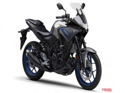 Xe Adventure Yamaha Tracer 300 sắp sửa trình làng, được phát triển từ naked bike MT-03?
