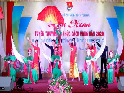 Yên Bái: Sôi nổi, lan tỏa Liên hoan tuyên truyền ca khúc cách mạng năm 2020