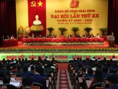 Thành công của Đại hội Đảng bộ tỉnh Thái Bình lần thứ XX, nhiệm kỳ    2020 – 2025 là nhờ sự đồng thuận cao của Đảng bộ và Nhân dân