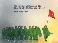 Cuộc hành quân của các anh, sức mạnh và niềm tin của chúng ta