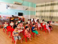 Trường Mầm non Việt Đông Dương, quận Thủ Đức tổ chức nhiều hoạt động trải nghiệm cho trẻ em
