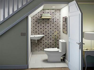 Cách xử lý lỗi phong thủy nhà vệ sinh nằm ở trung cung