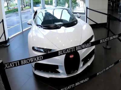 Giá thuê siêu xe Bugatti Chiron Sport khiến