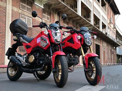 Honda MSX 125 phiên bản 2021 chính thức ra mắt, đèn pha như Ducati X-Diavel