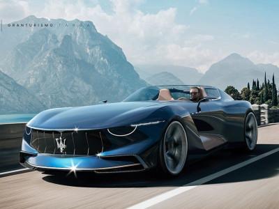 Maserati GranTurismo Targa - Thiết kế concept đẹp lộng lẫy, khiến MC20 mới trở nên mờ nhạt