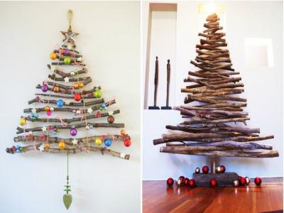 Khéo tay tự tạo cây thông độc, lạ đón Giáng sinh vào nhà