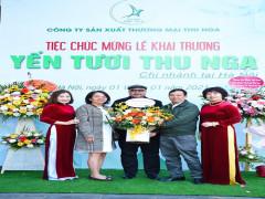 Thương hiệu Yến tươi Thu Nga có mặt tại Thủ đô Hà Nội
