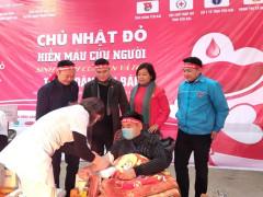 Tỉnh đoàn Yên Bái phối hợp tổ chức Ngày Chủ Nhật đỏ năm 2021 tại Thị xã Nghĩa Lộ