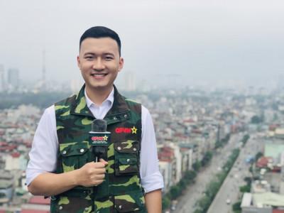 BTV, MC Trần Tùng - Cán bộ đoàn nhiệt huyết, năng động, sáng tạo
