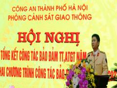 Cảnh sát giao thông Công an Hà Nội sẵn sàng 100% lực lượng bảo vệ Đại hội Đảng lần thứ XIII