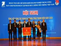 Tuổi trẻ VNPT nhận Cờ Trung ương Đoàn tặng đơn vị có thành tích xuất sắc trong công tác Đoàn và phong trào thanh niên 3 năm liền Khối cơ quan doanh nghiệp