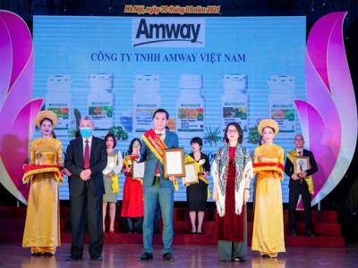 Amway Việt Nam lần thứ 8 vinh dự nhận giải thưởng