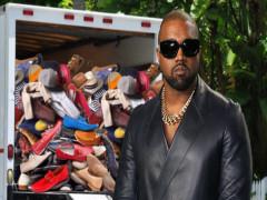 Kanye West chuyển đồ đạc khỏi nhà chung với vợ