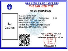 Ngành BHXH Việt Nam sẵn sàng cho công tác  cấp thẻ BHYT mẫu mới từ ngày 01/4/2021