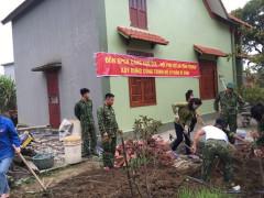BĐBP Quảng Ninh: Xây tặng xã đảo tiền tiêu 40 hố ủ rác thải hữu cơ thành phân vi sinh