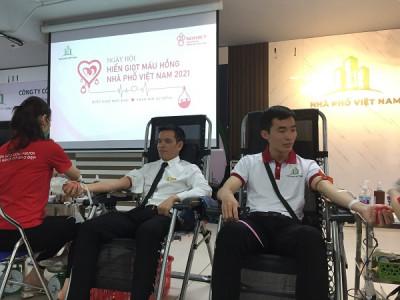 Tập đoàn Nhà phố Việt Nam tổ chức ngày hội hiến máu tình nguyện