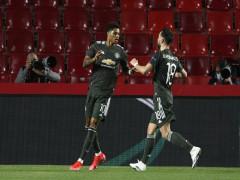 Man Utd đặt một chân vào bán kết Europa League