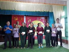 Hội Cựu TNXP xã Hồng Tiến: Tham gia hoàn tất chế độ chính sách cho TNXP đã hoàn thành nhiệm vụ
