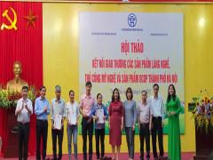 Hà Nội: Kết nối giao thương sản phẩm làng nghề, thủ công và sản phẩm OCOP