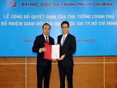 Phó Thủ tướng Vũ Đức Đam trao quyết định bổ nhiệm Giám đốc ĐHQG TPHCM