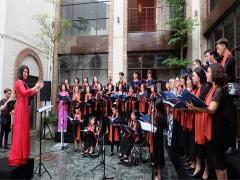 120 nghệ sỹ Việt Nam và quốc tế tham gia hoà nhạc