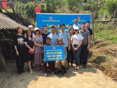 Tỉnh đoàn Yên Bái phối hợp khởi công xây dựng nhà mới cho 2 hộ nghèo xã Bản Mù