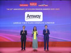 Amway Việt Nam được vinh danh 10 năm liên tục là doanh nghiệp có vốn đầu tư nước ngoài kinh doanh thành công tại Việt Nam