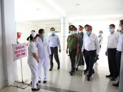 Phó Thủ tướng Thường trực kiểm tra công tác phòng chống dịch tại TPHCM