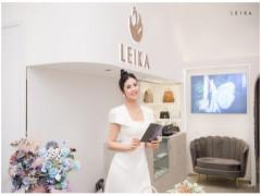 Hoa hậu Ngọc Hân: Nổi bật giữa event khai trương thời trang Leika với thiết kế độc quyền