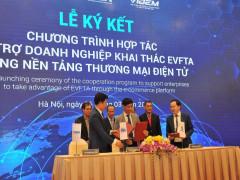 """Sàn thương mại điện tử EVFTA """"make in Việt Nam"""" sẽ hoạt động như thế nào?"""