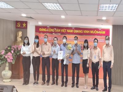 Đảng ủy Saigon Co.op nâng cấp 2 đảng bộ trực thuộc nhân kỷ niệm 32 năm thành lập