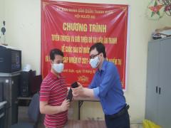 Giới thiệu bộ tài liệu âm thanh về cuộc bầu cử quốc hội và HĐND tới người khiếm thị
