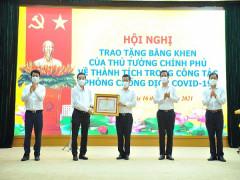 Trao Bằng khen của Thủ tướng Chính phủ cho tập thể, cá nhân huyện Đông Anh