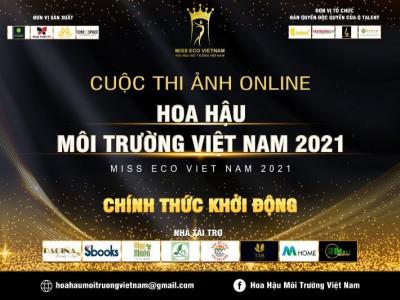 """""""Hoa hậu Môi trường VN 2021"""" khởi động cuộc thi Ảnh Online"""