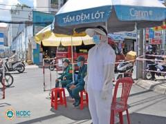 BV quận Tân Phú TPHCM : tạm thời phong tỏa ngay sau khi phát hiện 3 ca nghi nhiễm COVID-19 đến khám bệnh