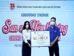 Hơn 4 tỉ đồng 'San sẻ yêu thương, chung tay vượt qua đại dịch'